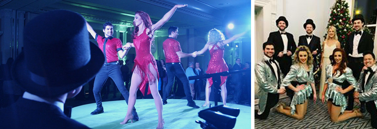 In The Round christmas party entertainment ideas