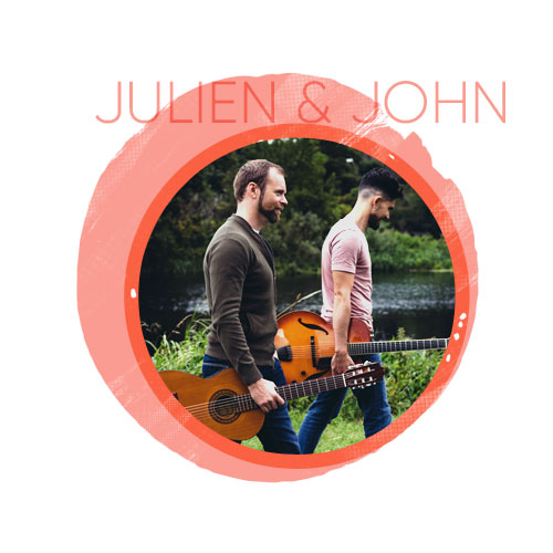 entertainment for weddings with julien-and-john