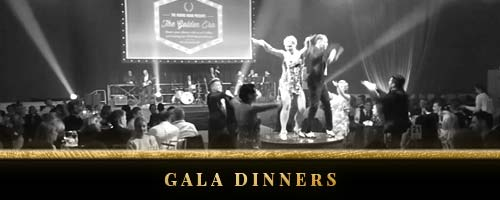 Entertainment for gala dinners