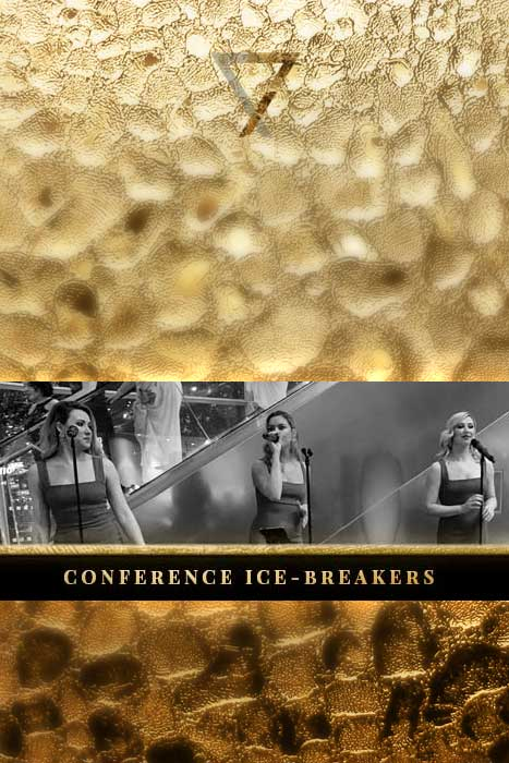 conference ice breakers for event opener entertainment