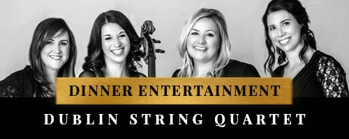 entertainment for dinner with String Quartet