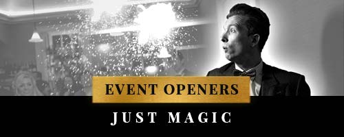 event opener idea with just magic