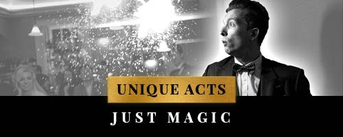 unique entertainment acts with Just Magic