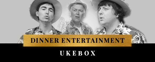 entertainment for dinner with ukebox