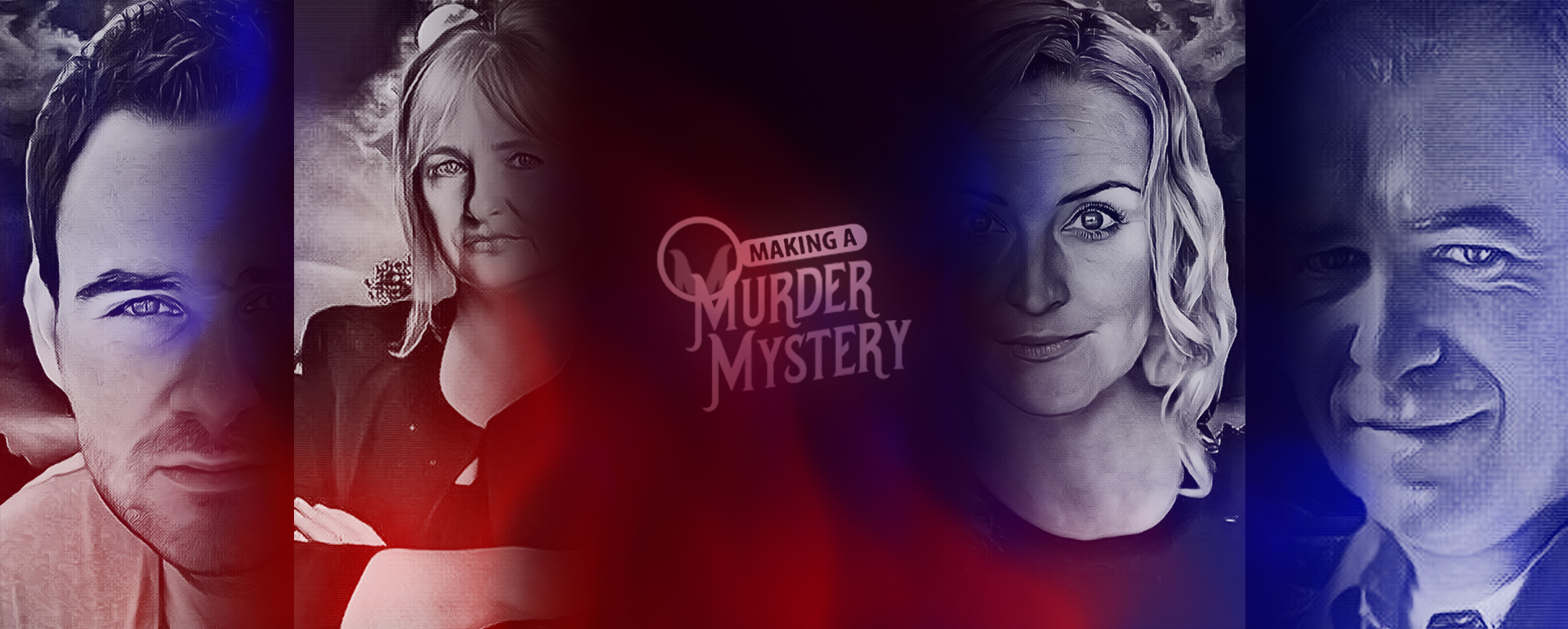 murder mystery banner