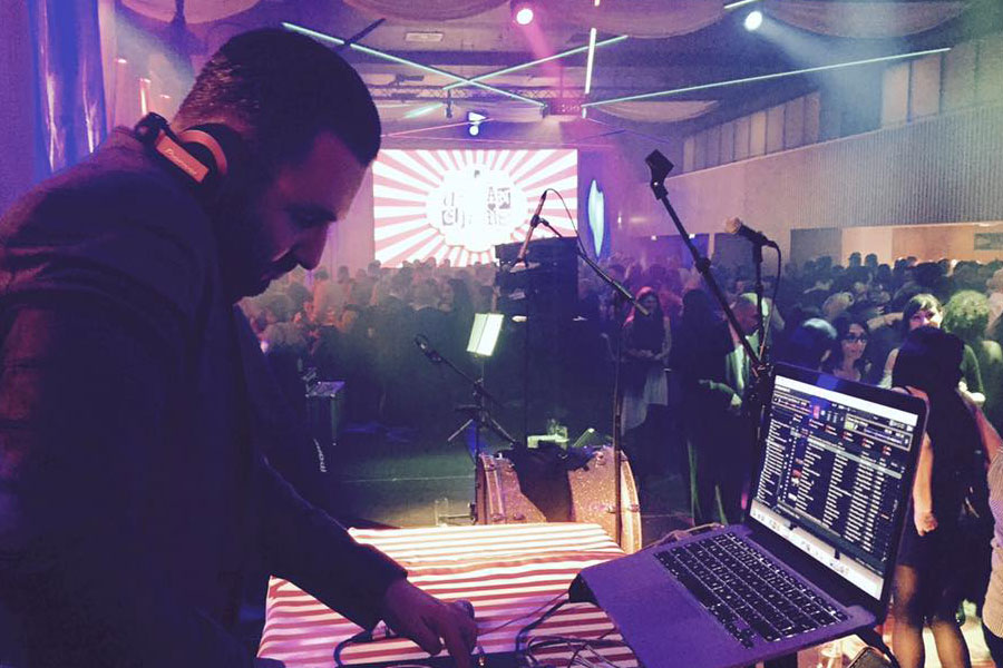 dj for christmas party entertainment