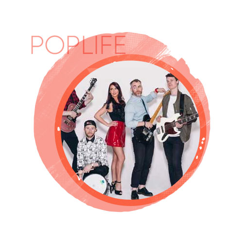 live wedding music with poplife