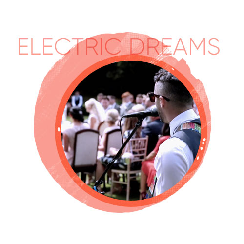 electric dreams entertainment for the wedding day
