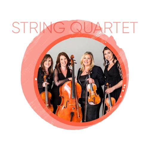 string-quartet for live entertainment